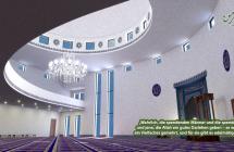 Moschee Bau